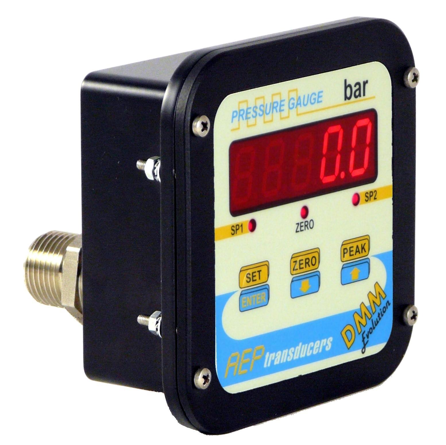 Man metros digitales sensing for Manometro para medir presion de agua